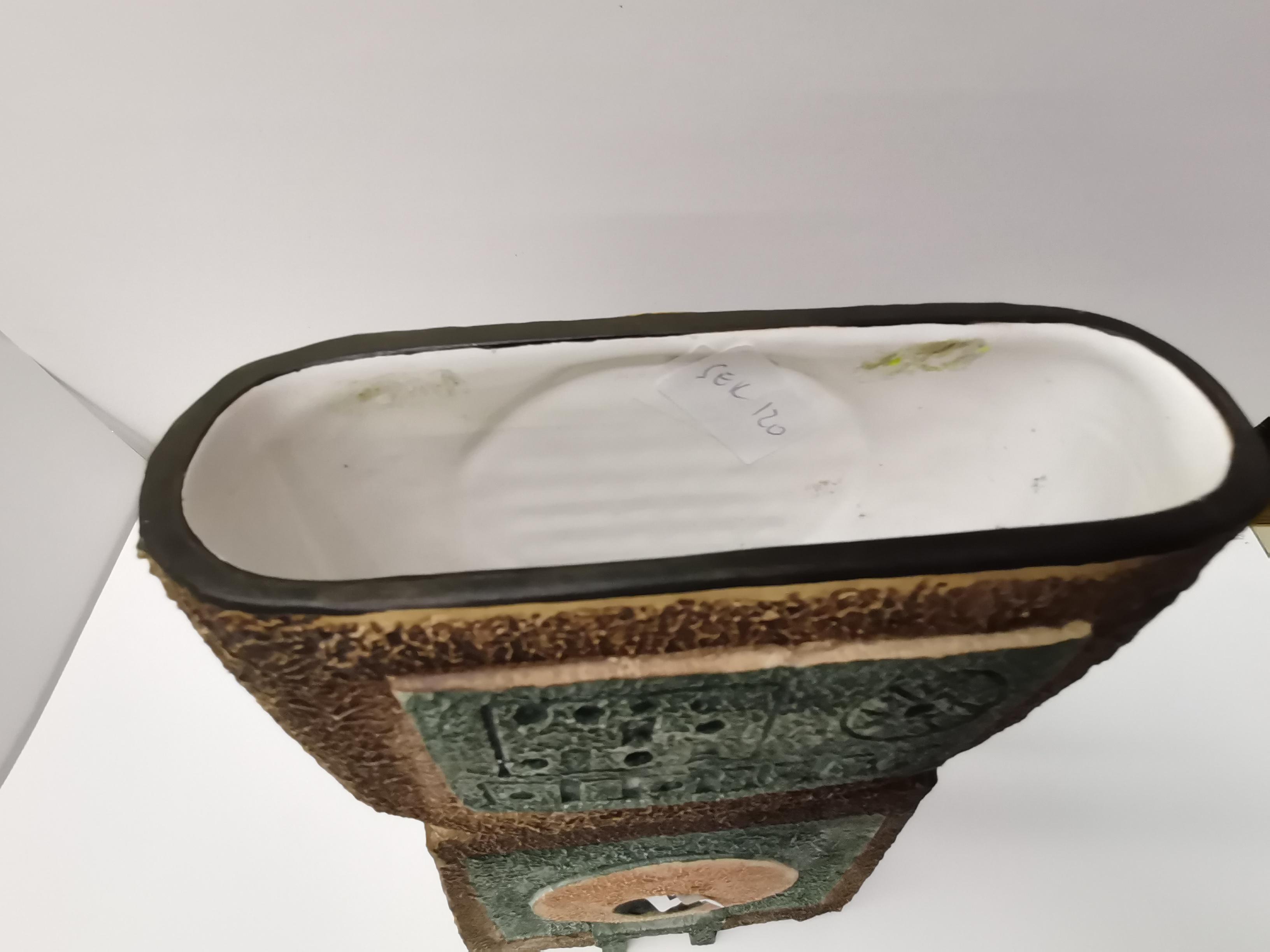 Large Troika double base Vase ex. condition - Image 4 of 4