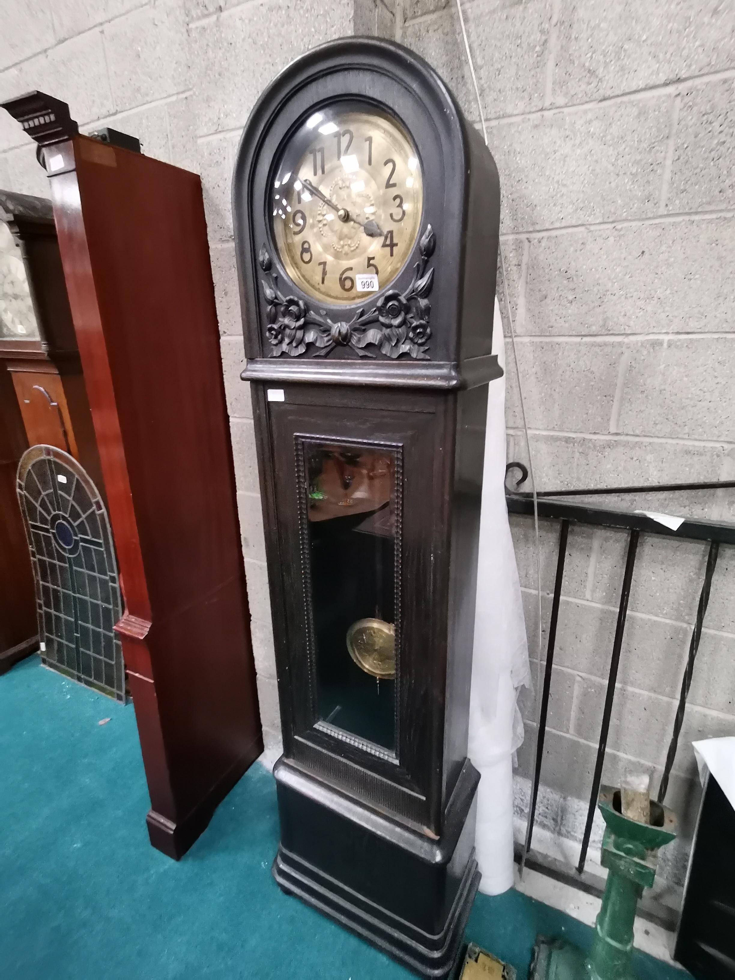Antique grand mother clock