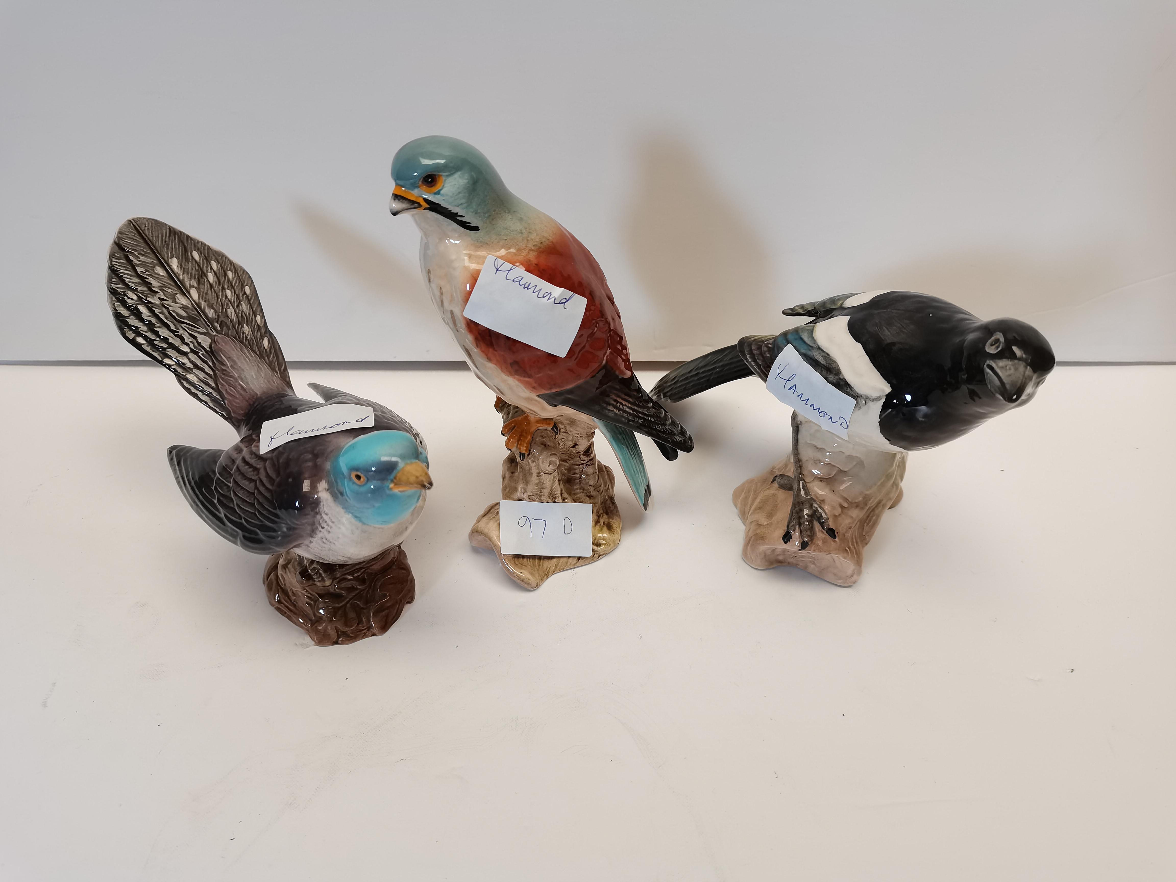 Beswick birds 2315 2316 2306