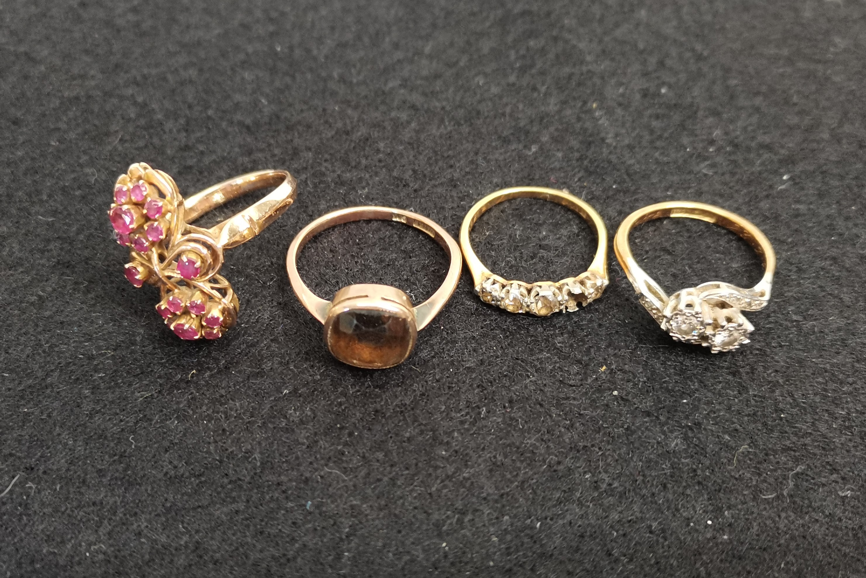 Gold rings etc - Image 2 of 3