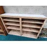 1.8m long pine sideboard