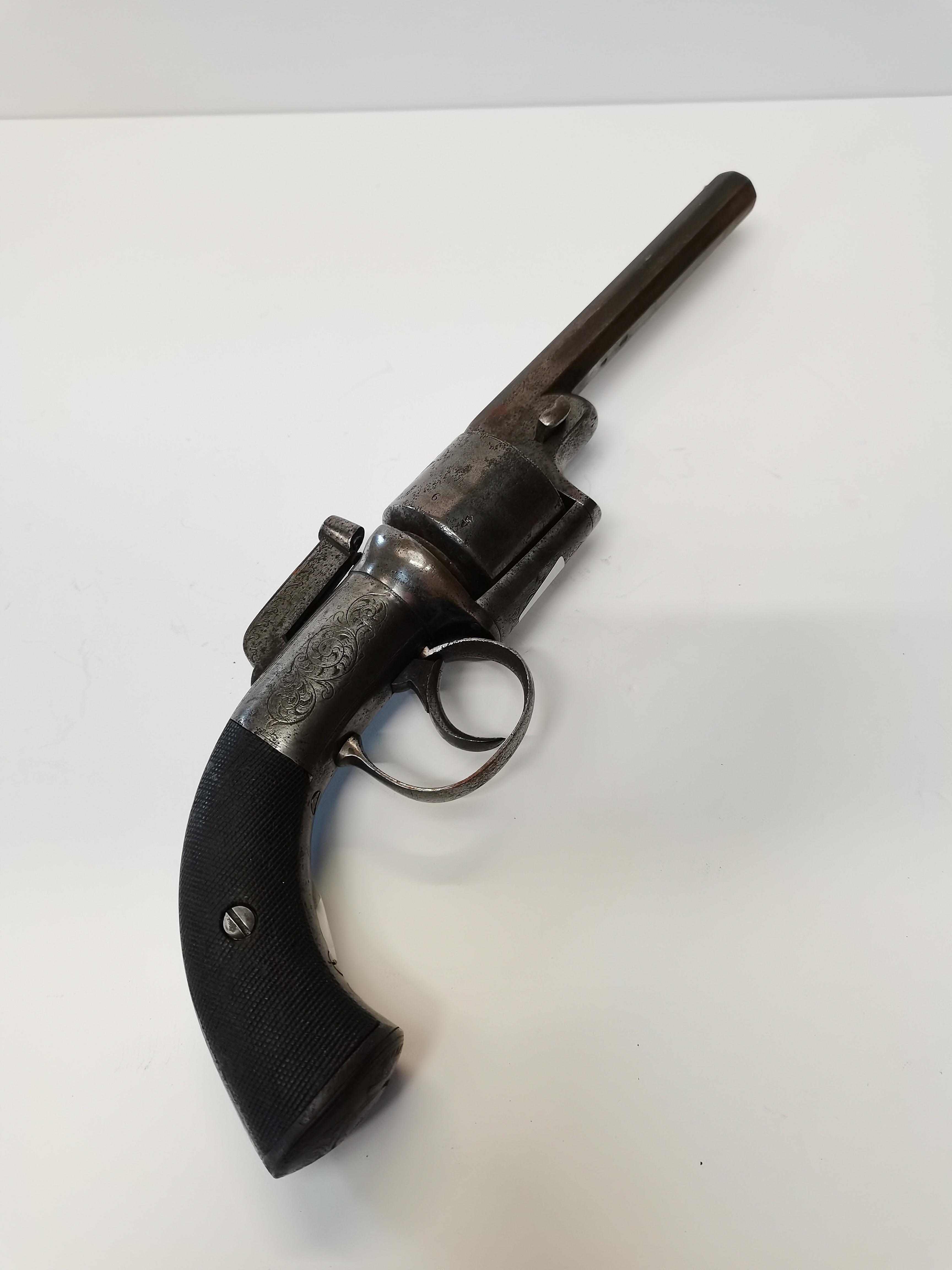 George Gibbs of Bristol 6 shot percusson revolver - Image 2 of 7