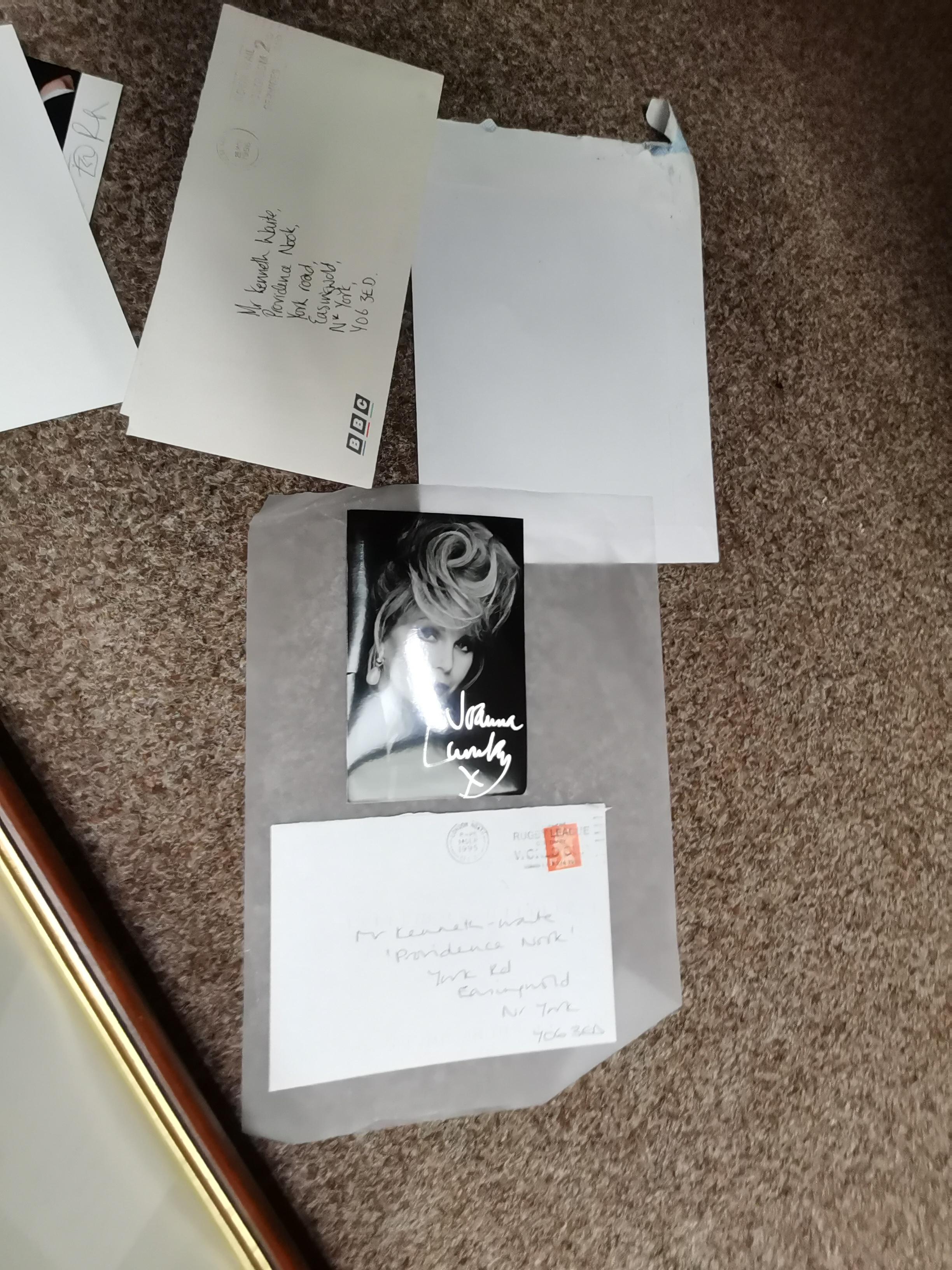 30 Plus Autographs In Folder - Image 4 of 7