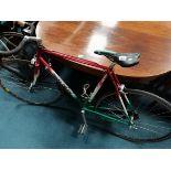 Nigel Dean racing bike