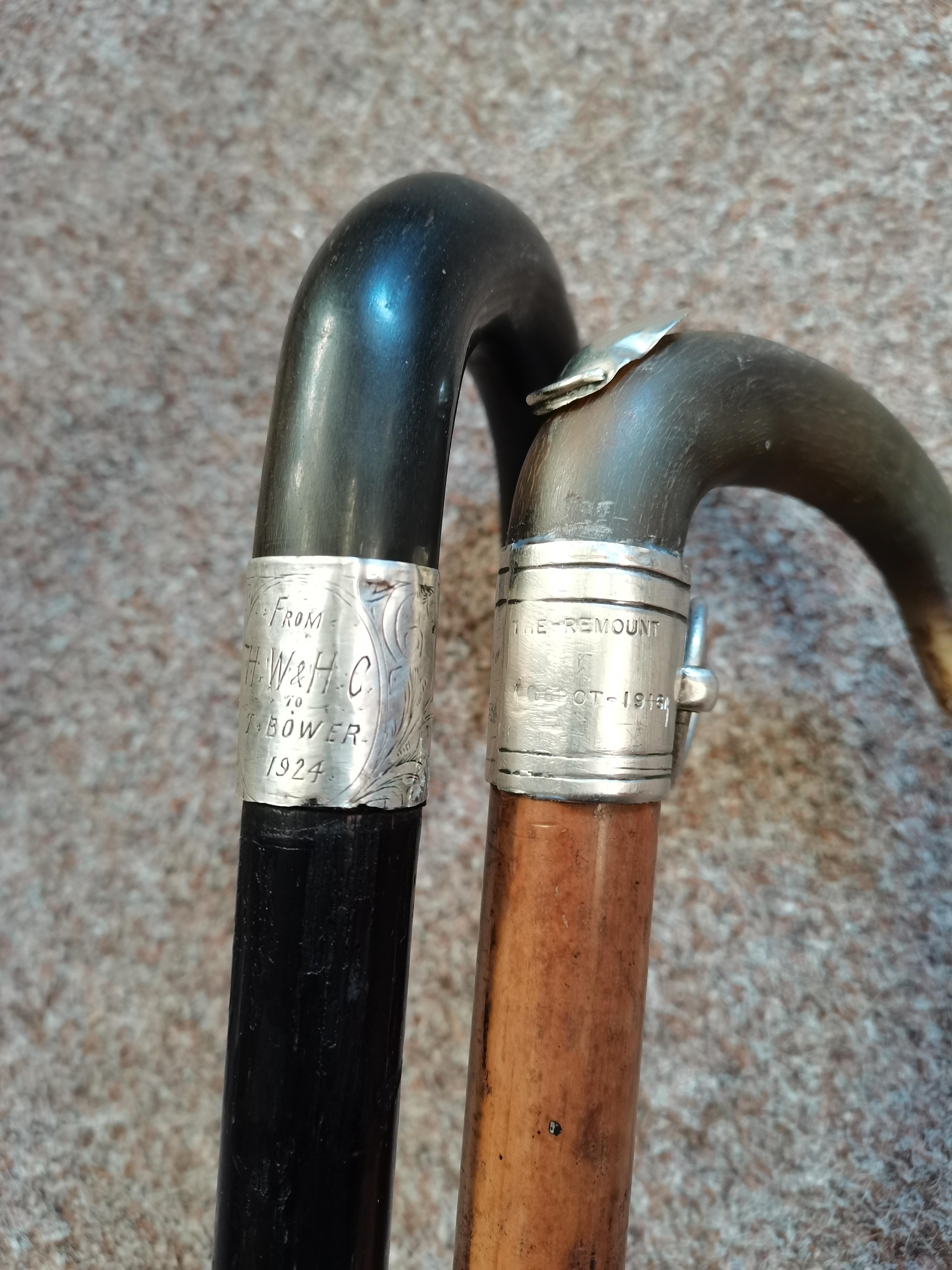 Antique flick stick plus stick - Image 2 of 2