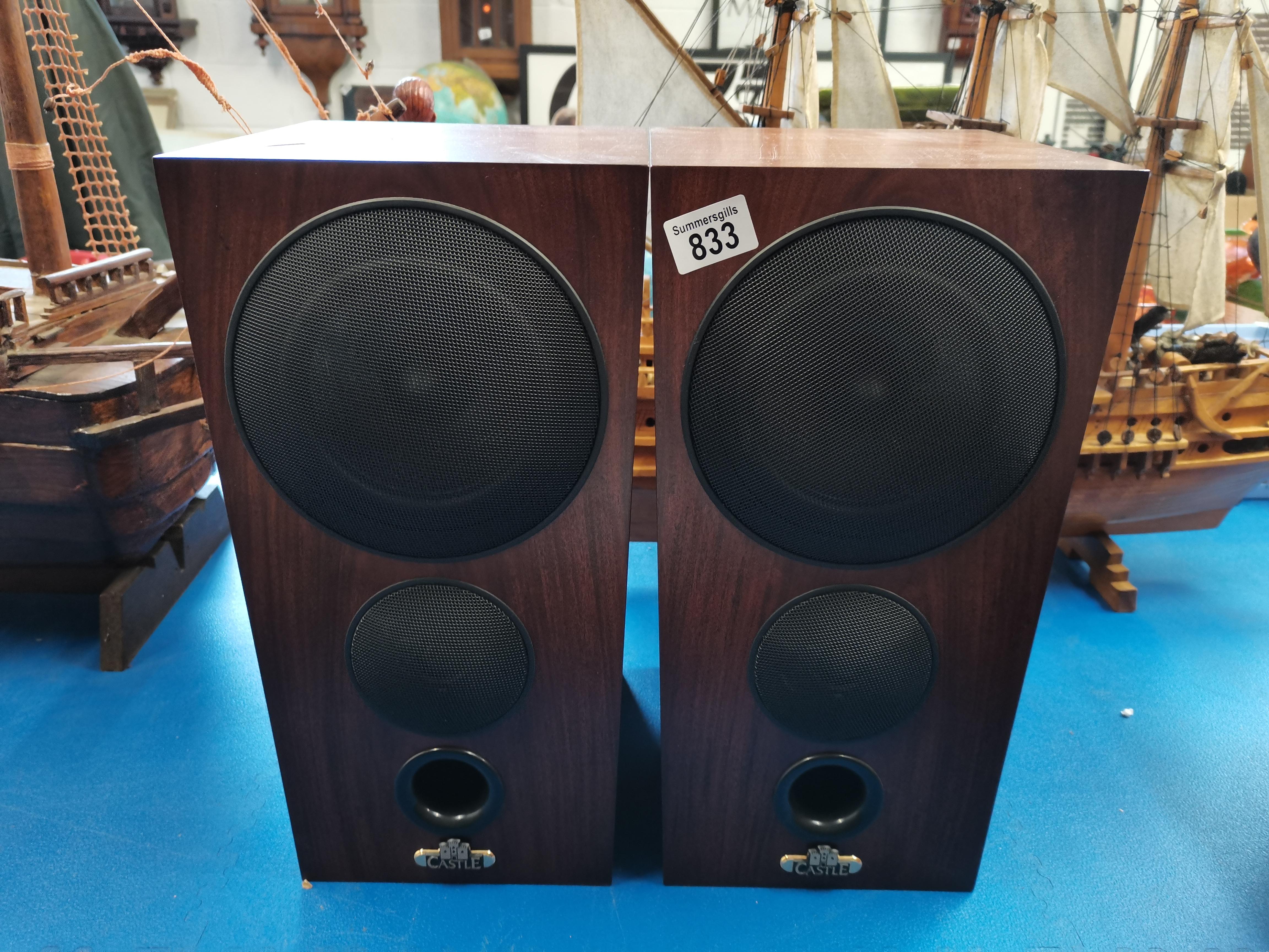 2 Wooden Speakers