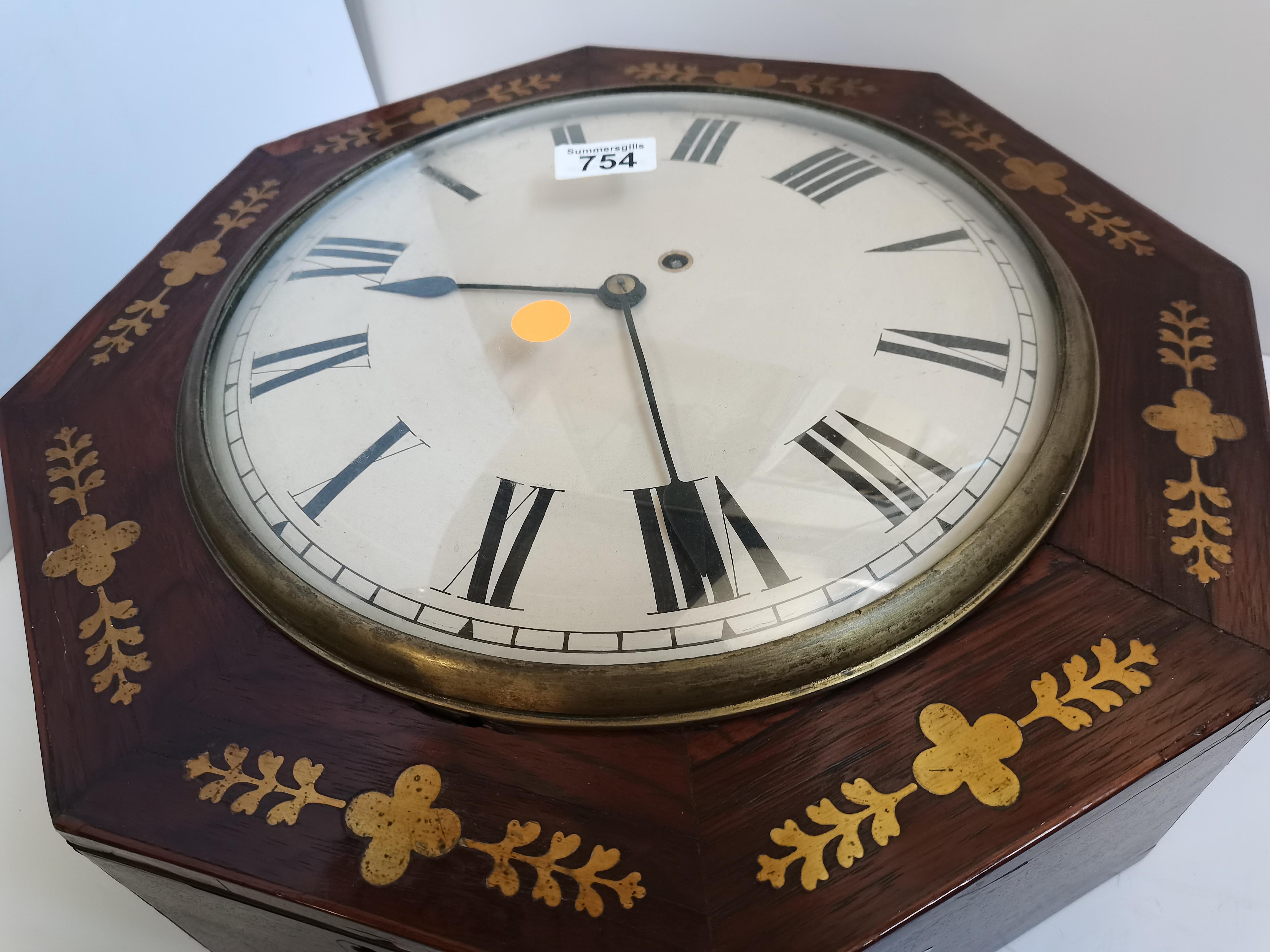 Regency Wall Clock - Image 2 of 6
