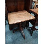 Various antique tables etc