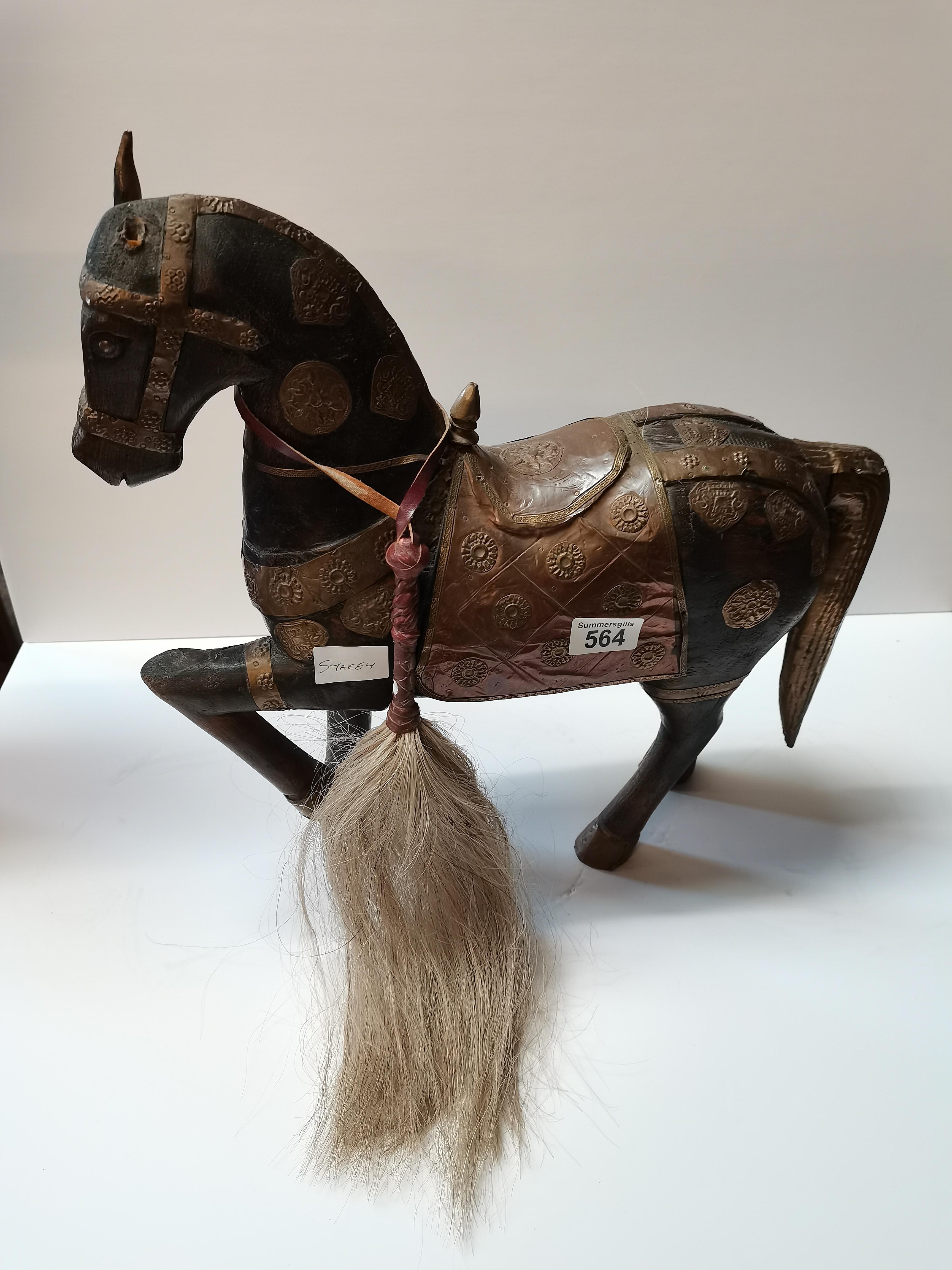 Eygptian style horse figure