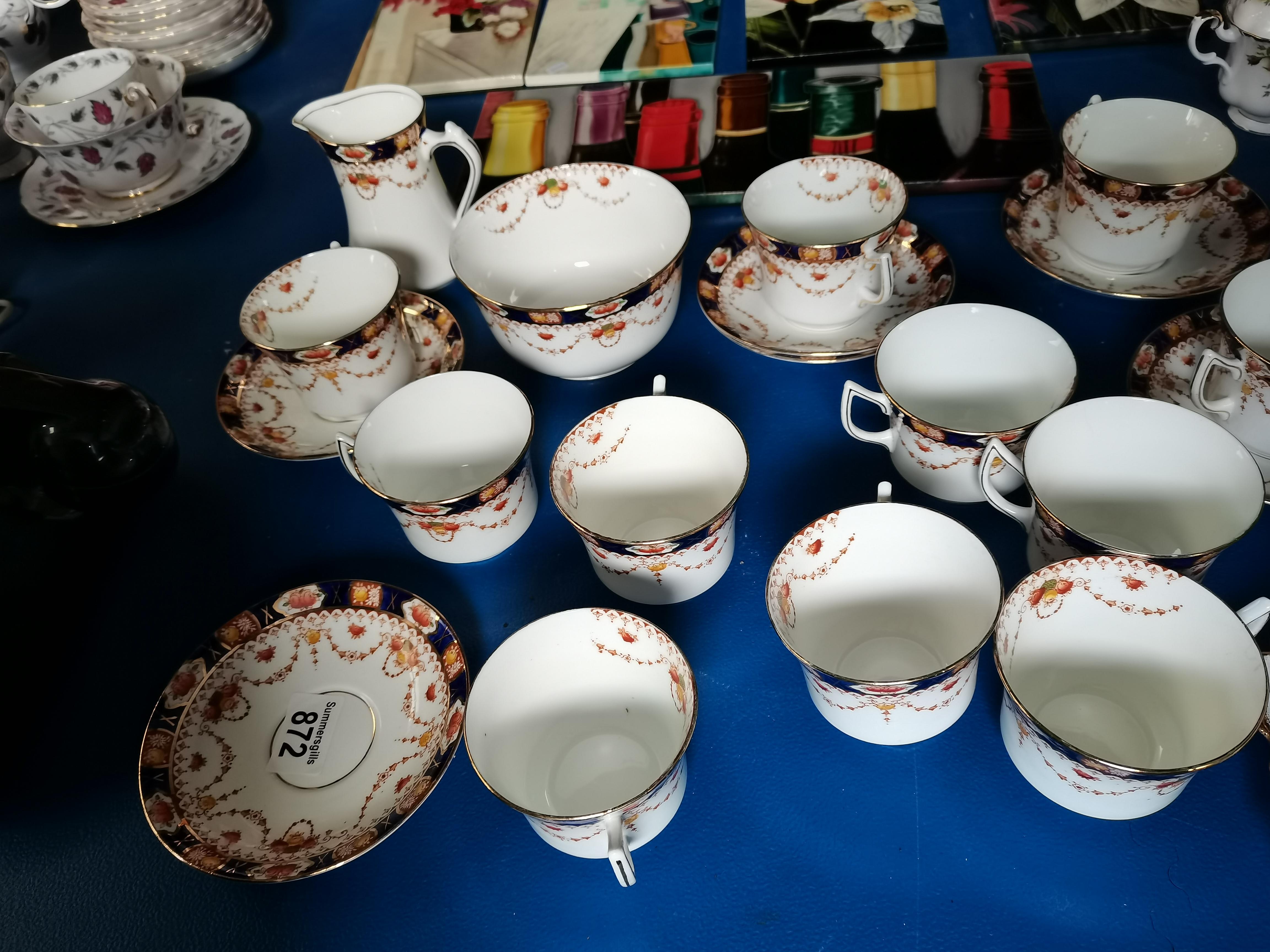 A Collection of Bradleys Salisbury China
