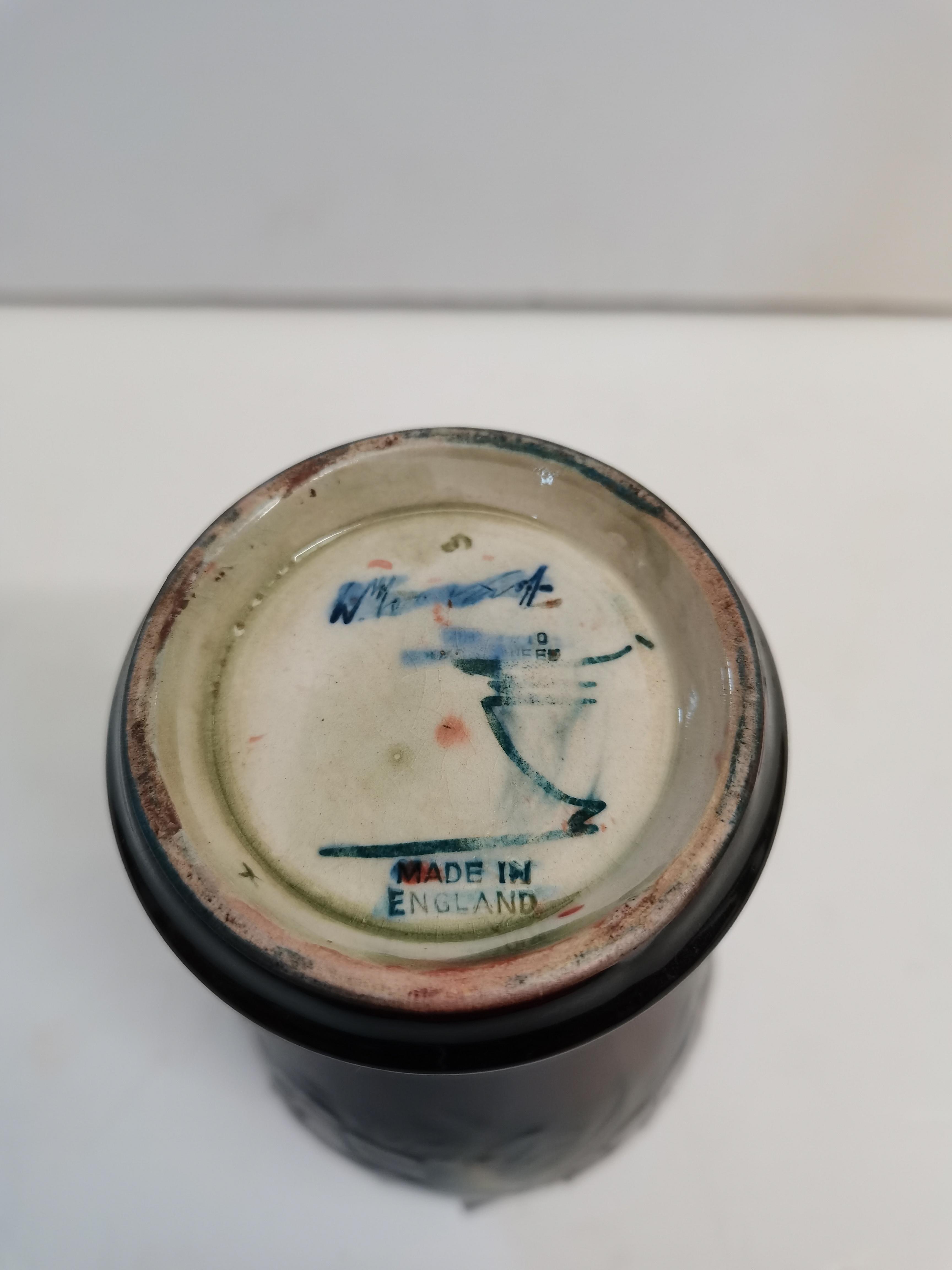 Moorcroft Flambe Poppy Vase A/F 18cm A/F - Image 3 of 5
