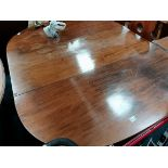 Georgian ext dining table in 3 sections