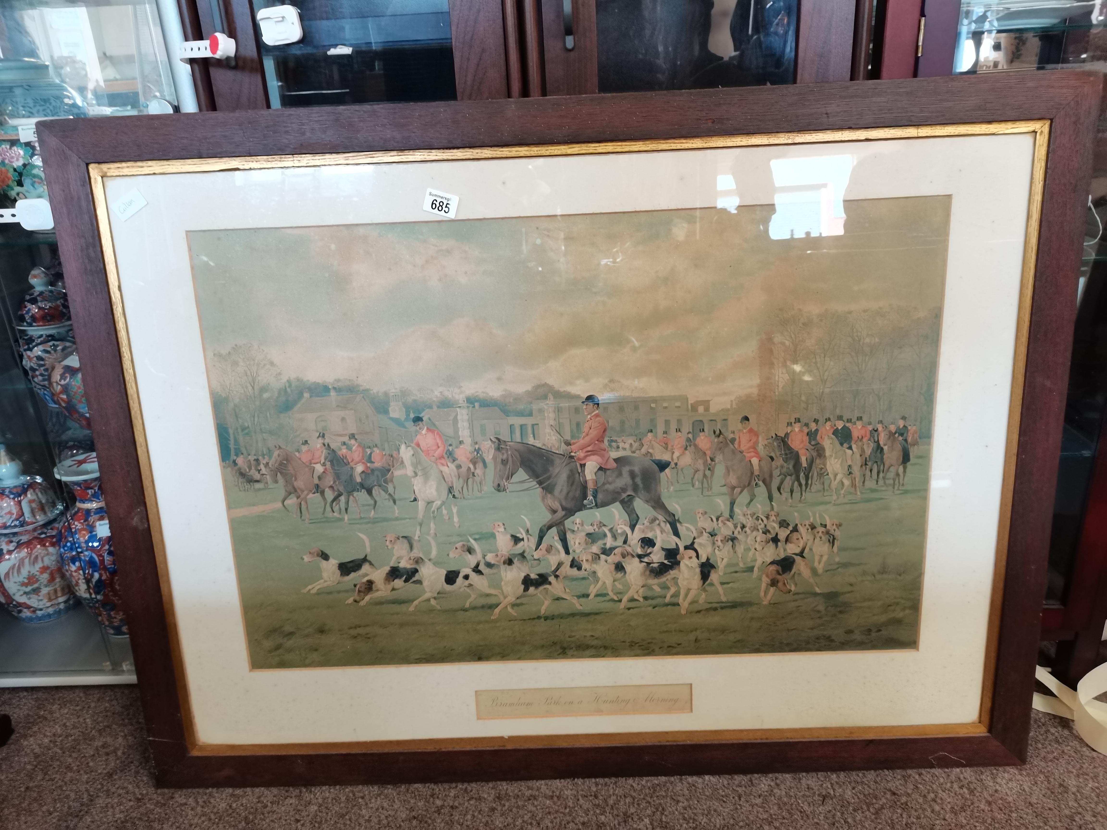 Large print of the Bramham Park hunt - Image 3 of 3