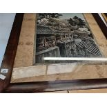 Large chinese silk picture