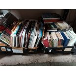 2 boxes of books - mainly railway theme