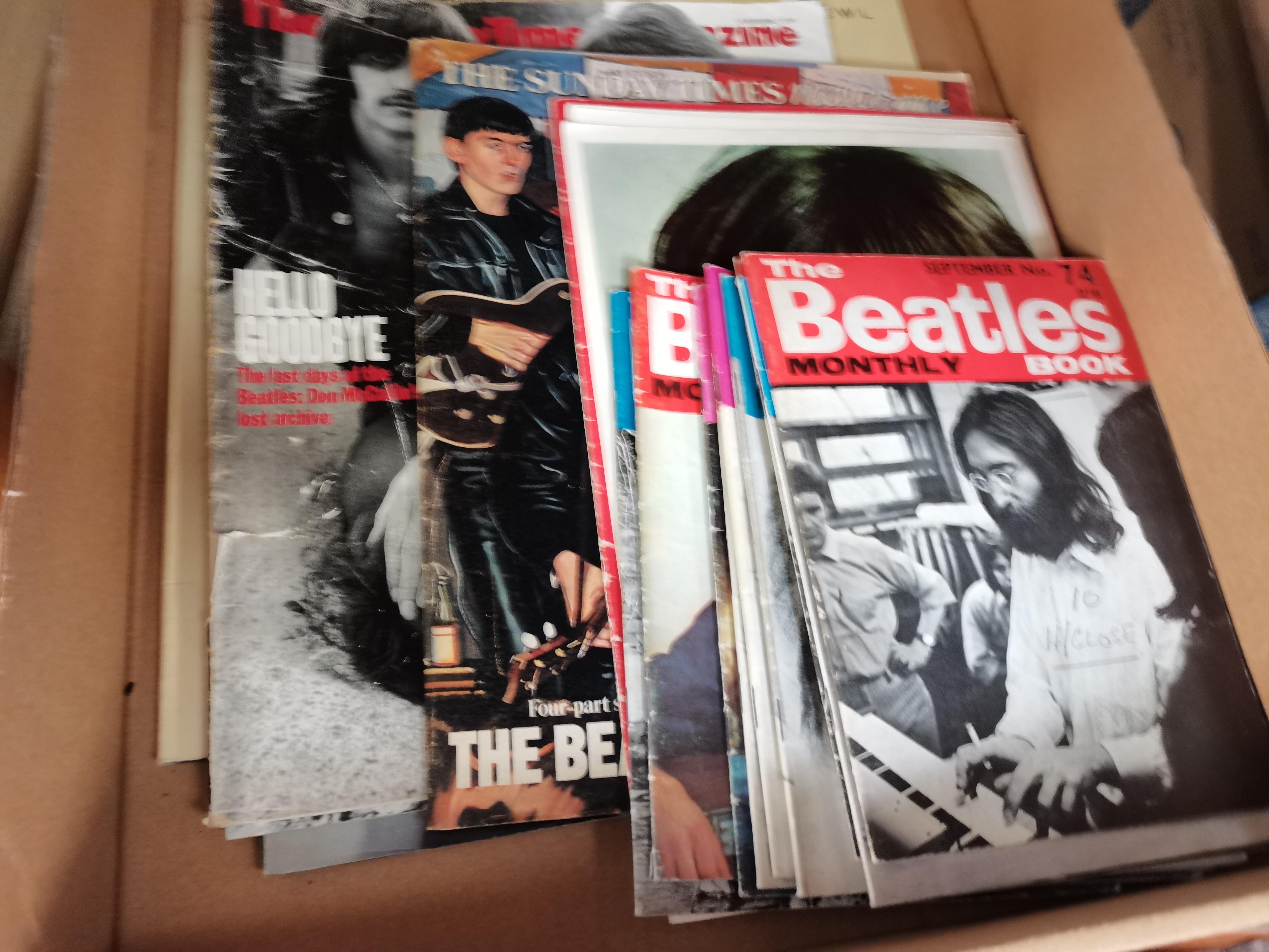 Beatles records etc - Image 2 of 3