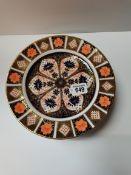 Crown derby imari pattern plates 27cm x 10 ( 6 1st 4 2nd )