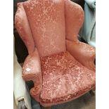 Quenn Anne stle arm chair
