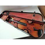 Violin and case