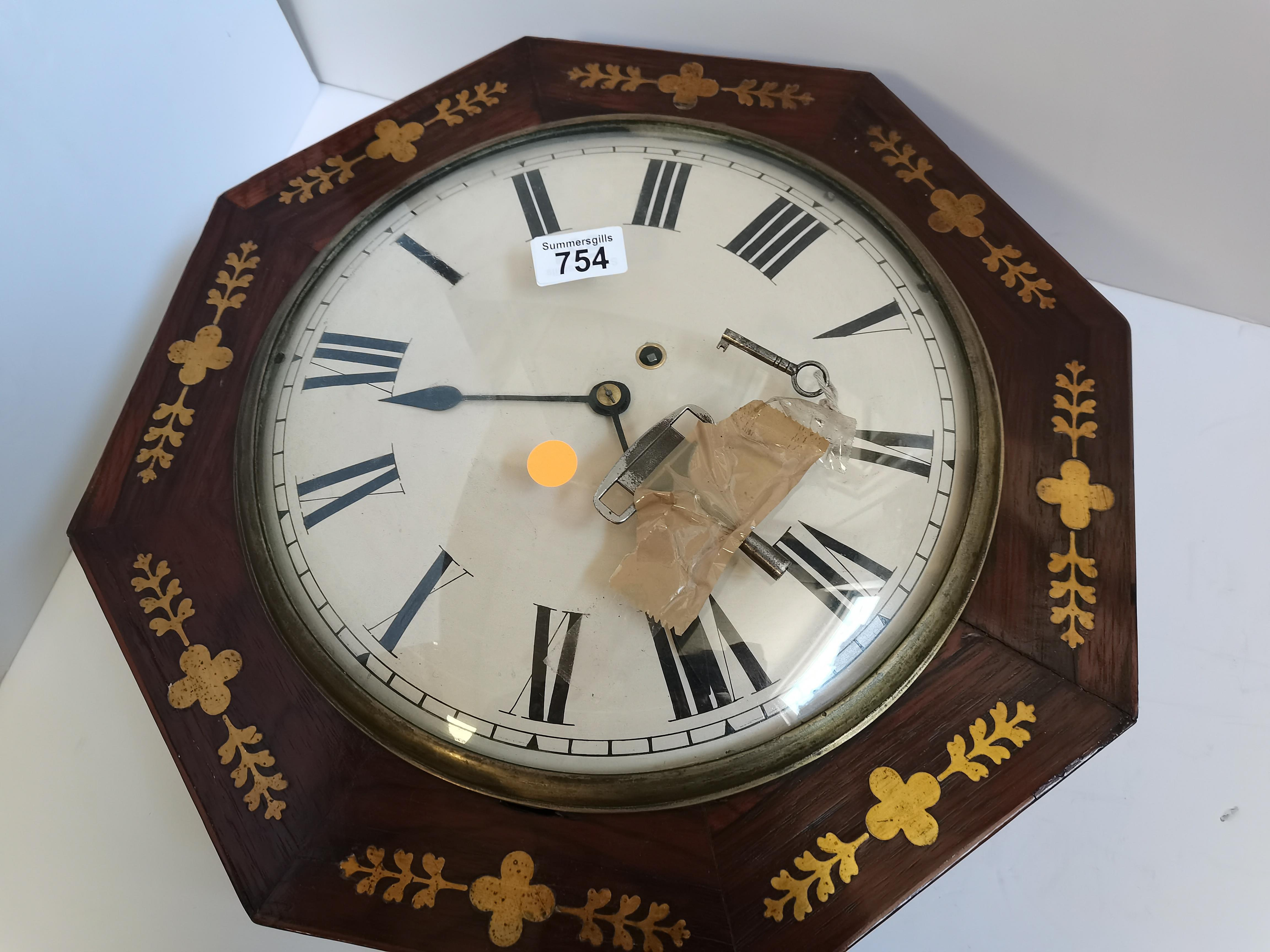 Regency Wall Clock - Image 5 of 6