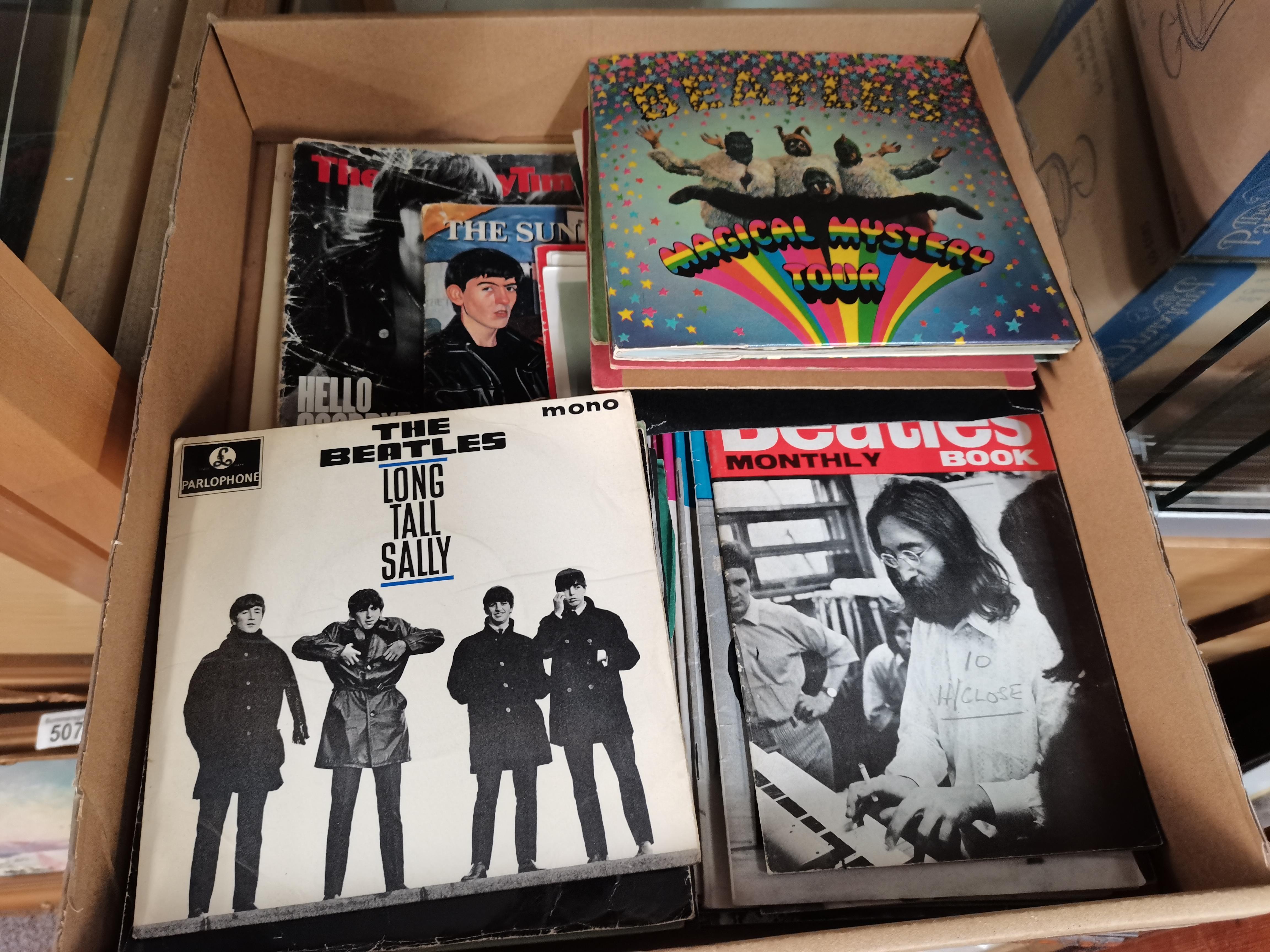 Beatles records etc - Image 3 of 3