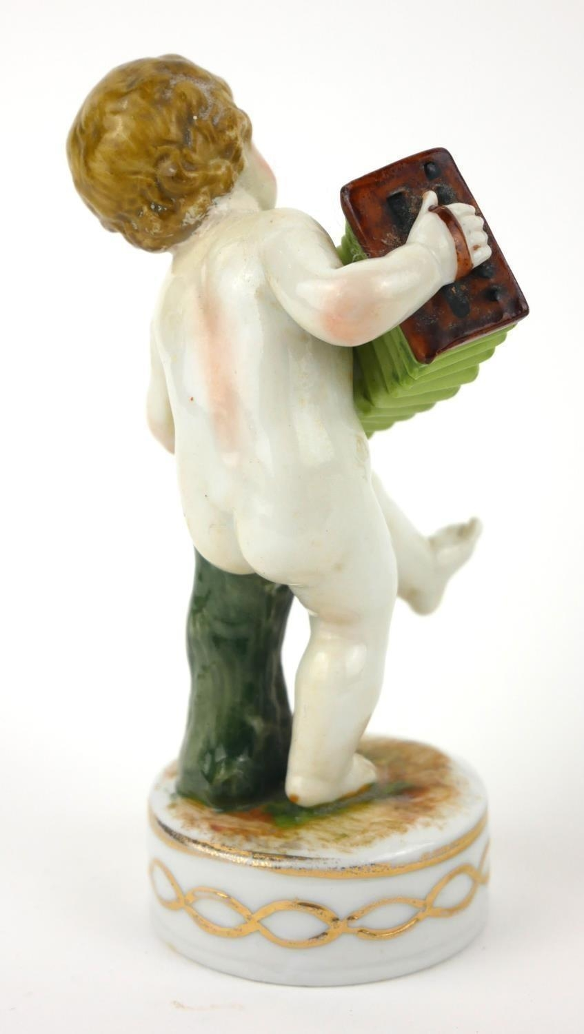 RAYMOND REYNET FOR ROSENTHAL, AN AMUSING PORCELAIN NOVELTY TRINKET BOX AND COVER, CIRCA 1960 - Image 3 of 9
