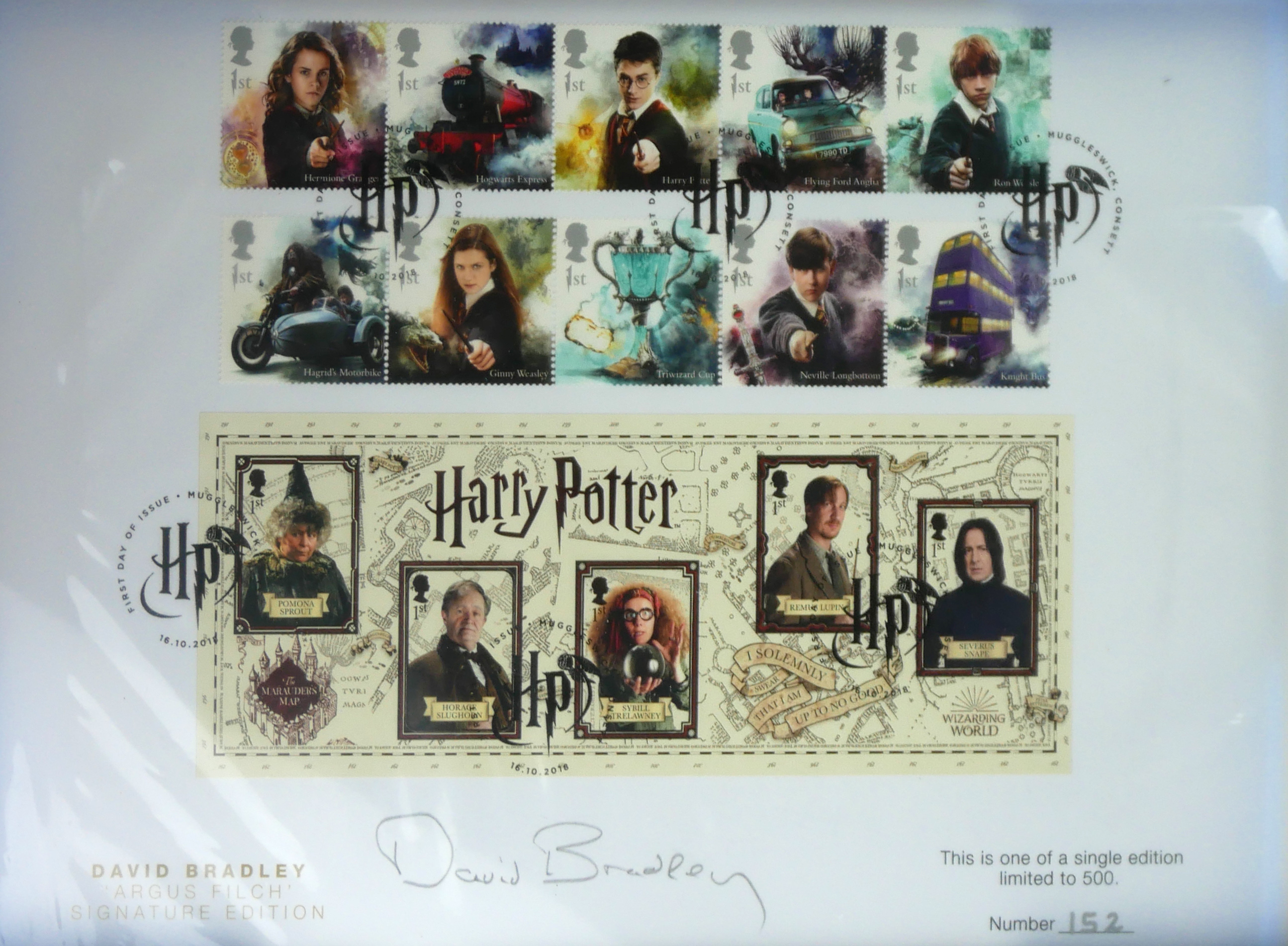 A COLLECTION OF THREE 'PREMIUM CAPSULE' POSTAGE STAMPS Limited edition to include Beatrix Potter, - Image 4 of 5