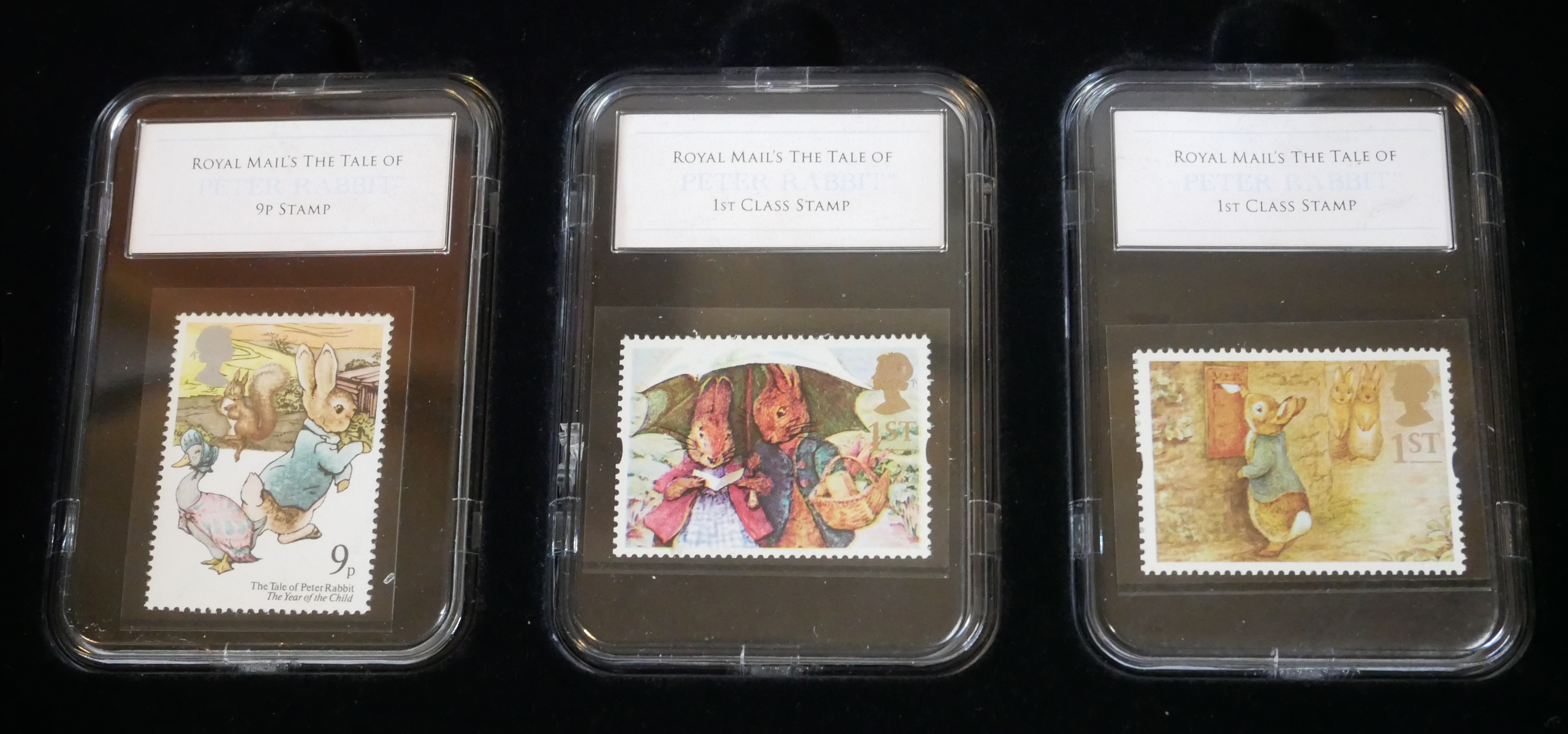 A COLLECTION OF THREE 'PREMIUM CAPSULE' POSTAGE STAMPS Limited edition to include Beatrix Potter, - Image 5 of 5