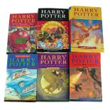 HARRY POTTER, TWO FIRST EDITION HARDBACK BOOKS 'The Order of The Phoenix' and 'Harry Potter and