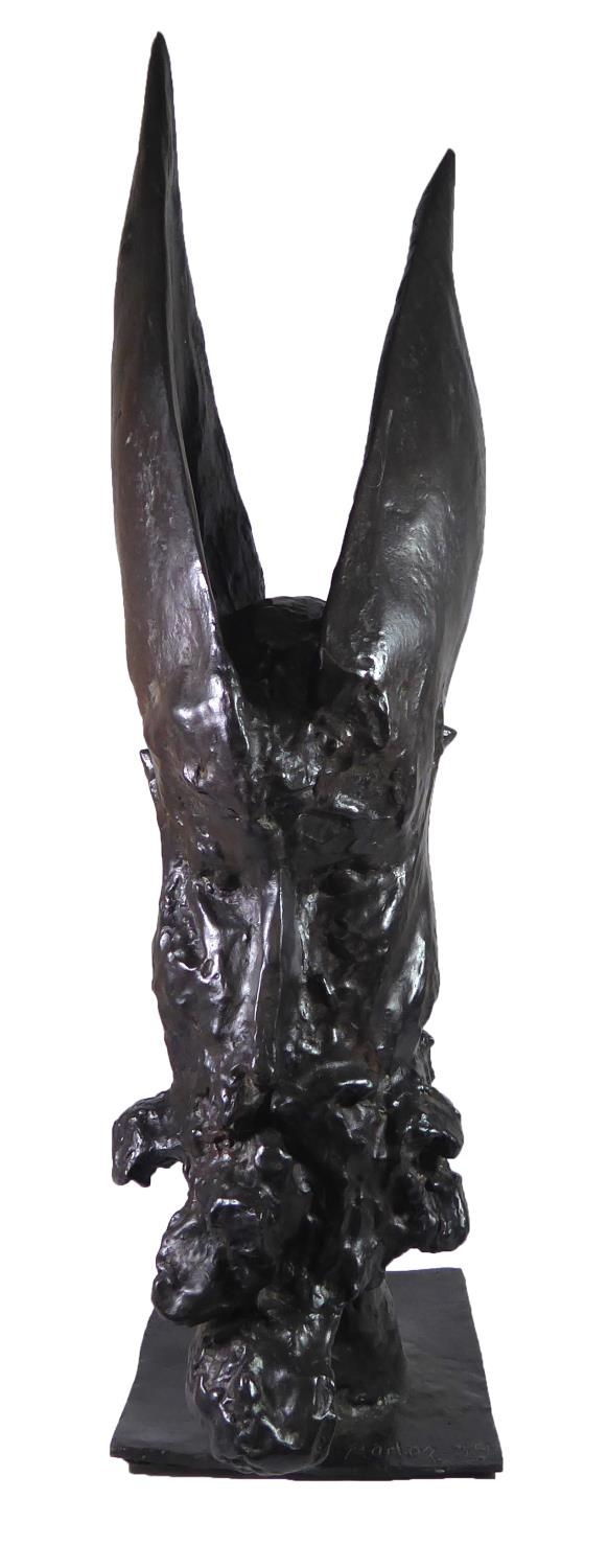 BERNARD REDER, BRONZE (2/5) Titled 'Aaron The High Priest, 1959', signed, numbered and dated. (69.