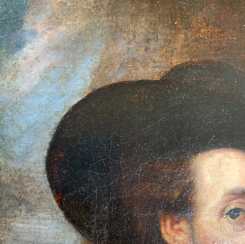 AFTER SIR PETER PAUL RUBENS, SIEGEN, 1577 - 1640, ANTWERP, 17TH CENTURY OIL ON CANVAS Self - Image 8 of 11