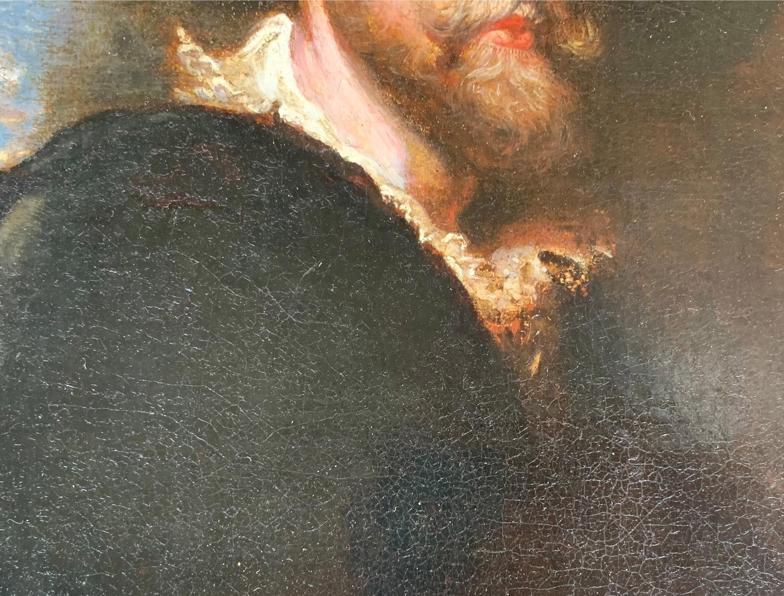 AFTER SIR PETER PAUL RUBENS, SIEGEN, 1577 - 1640, ANTWERP, 17TH CENTURY OIL ON CANVAS Self - Image 9 of 11