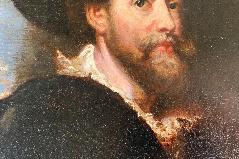 AFTER SIR PETER PAUL RUBENS, SIEGEN, 1577 - 1640, ANTWERP, 17TH CENTURY OIL ON CANVAS Self - Image 10 of 11