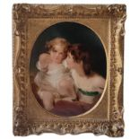 THOMAS LAWRENCE, P. R.A., 1769 - 1830, EARLY 19TH CENTURY OIL SKETCH ON PANEL Portrait of The