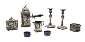 Swedish silver plated items