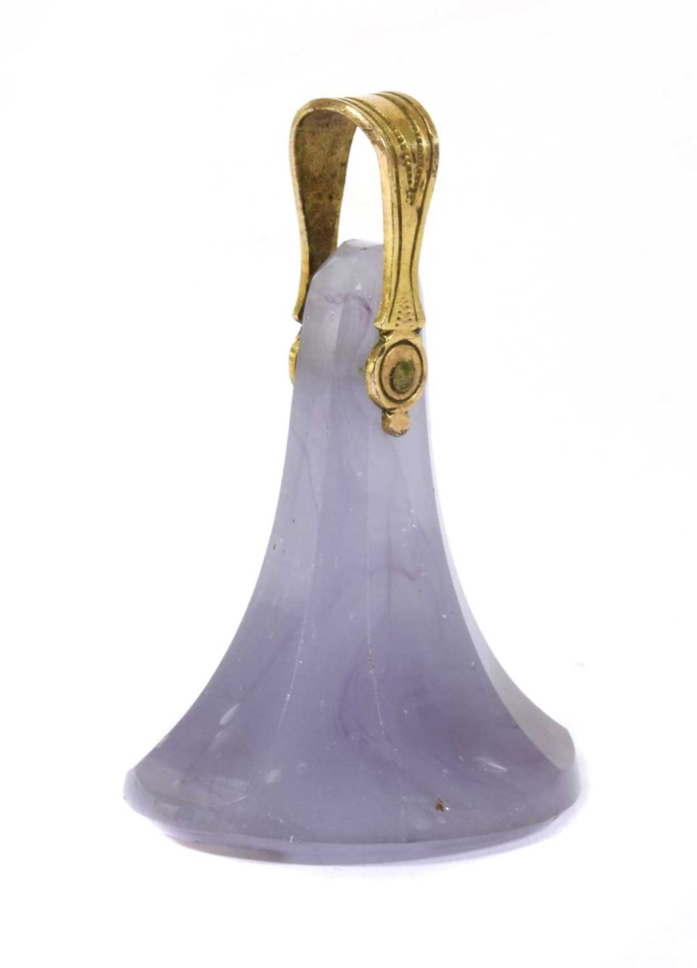 A Continental glass seal fob, - Image 2 of 2