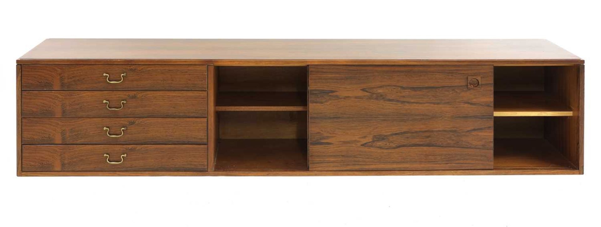 A rosewood wall cabinet, § - Image 3 of 10