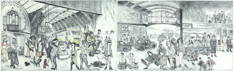 *Chris Orr RA (b.1943) - Image 2 of 2