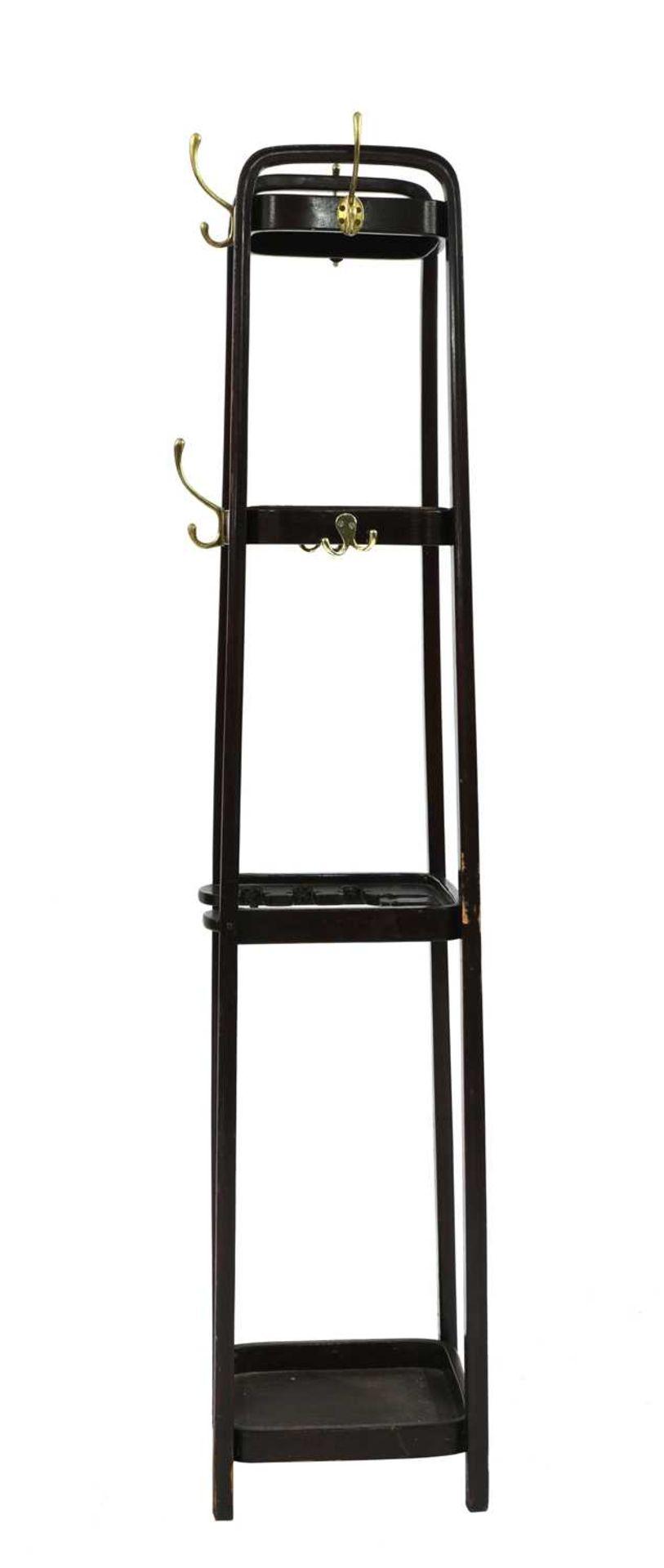 A Thonet coat stand,