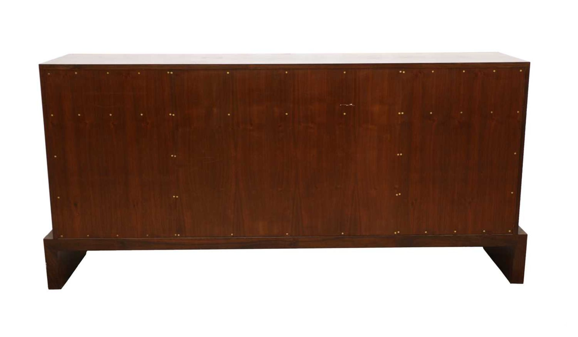 An Indian rosewood dining suite, - Image 4 of 10