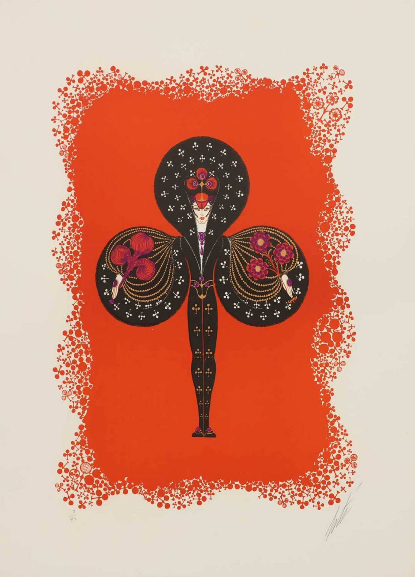 *'Erte' (Romain de Tirtoff) (Russian-French, 1892-1990) - Image 4 of 4
