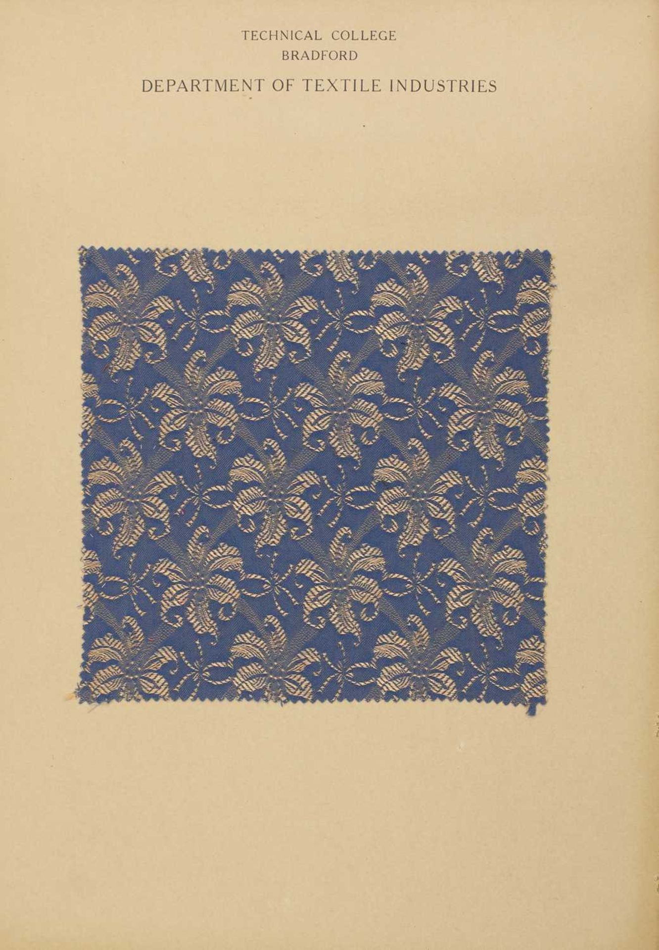 A collection of twelve Art Deco fabric sample cards, - Image 5 of 11