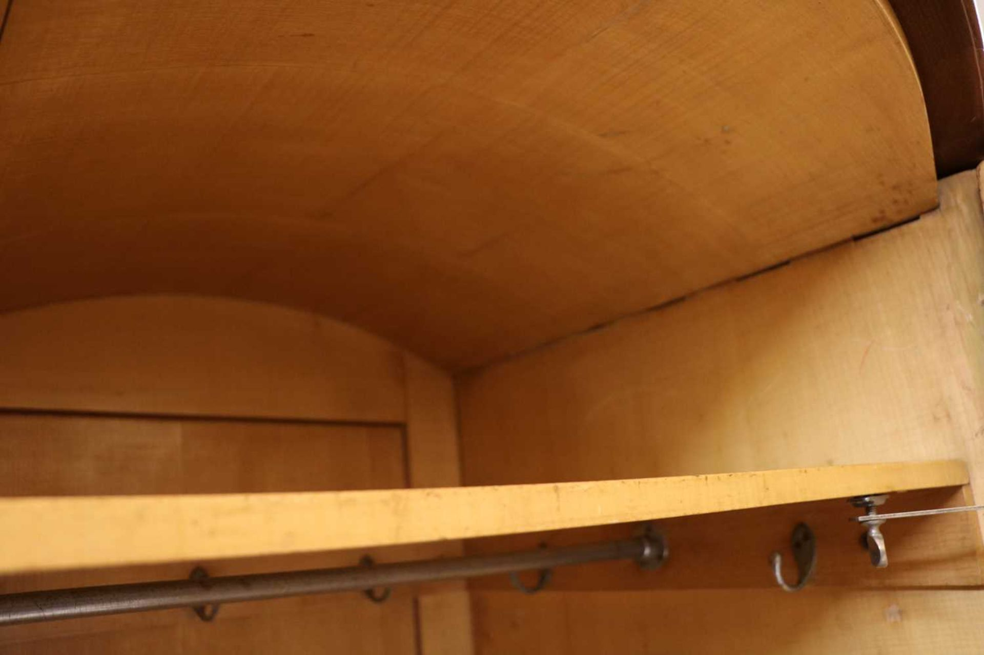 An Art Deco burr walnut and maple bedroom suite, - Image 19 of 45