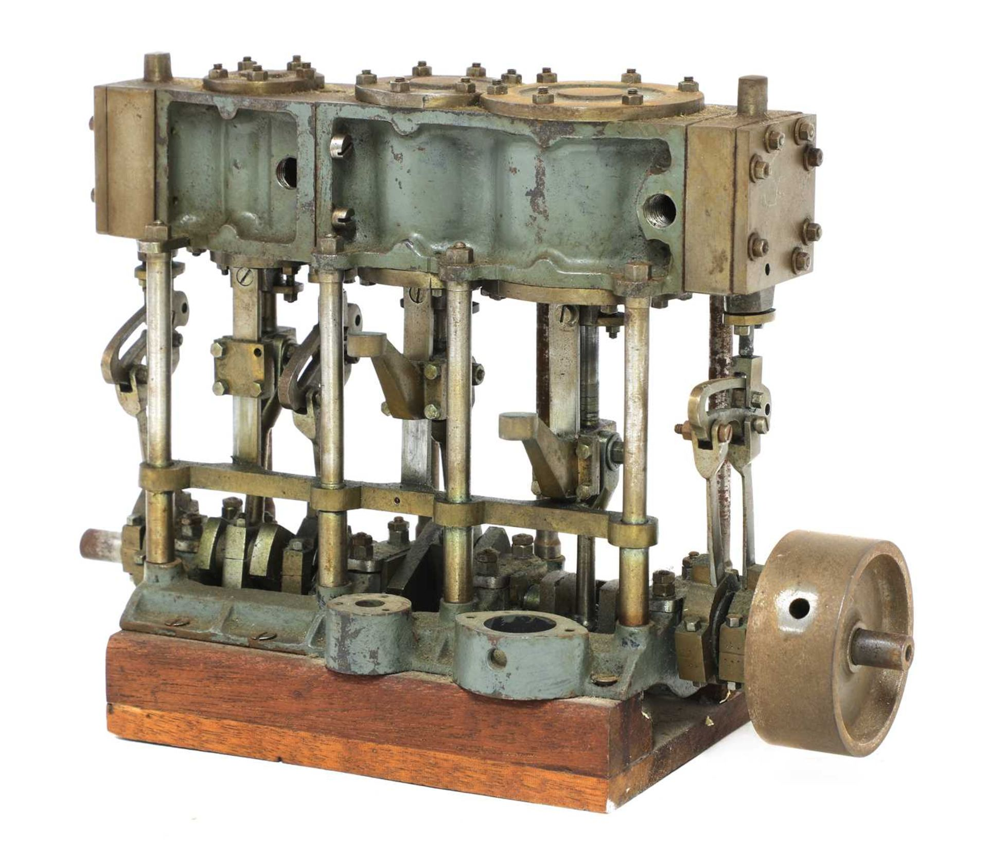A model of a Stuart Turner triple expansion engine, - Image 3 of 3