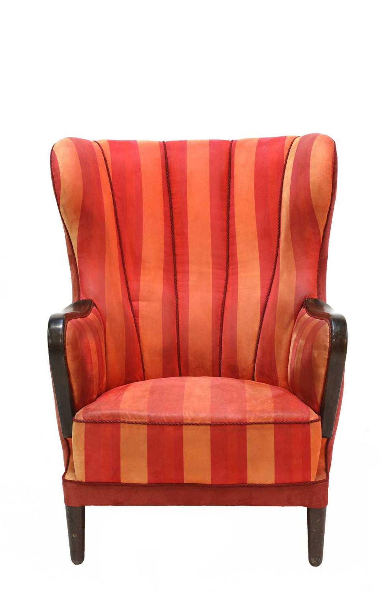 A Danish armchair, - Image 3 of 3