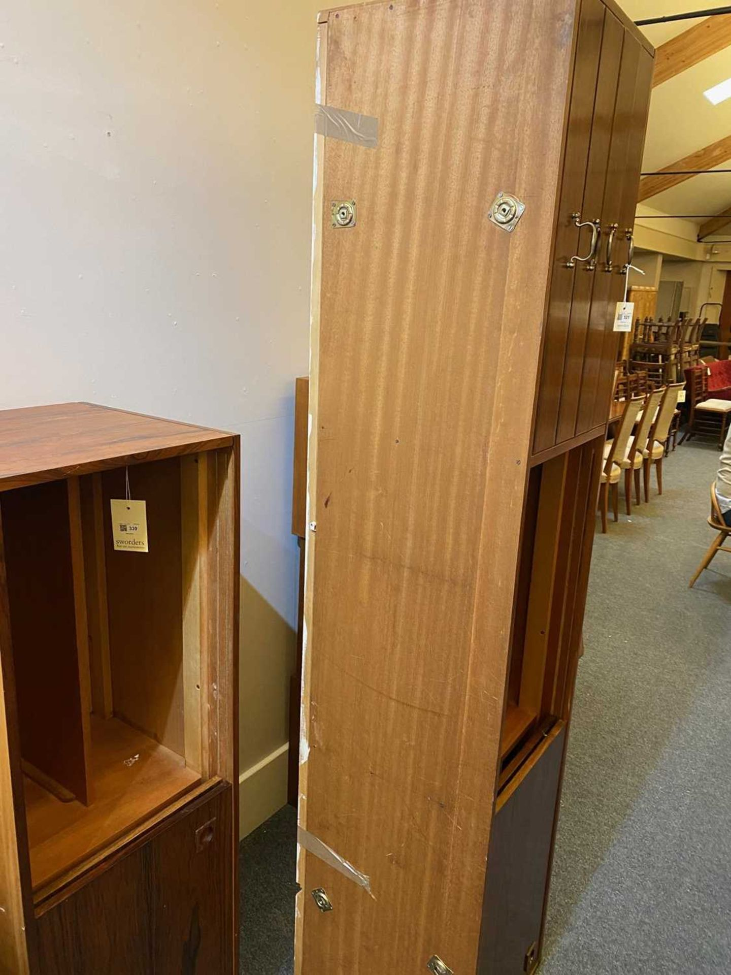 A rosewood wall cabinet, § - Image 9 of 10