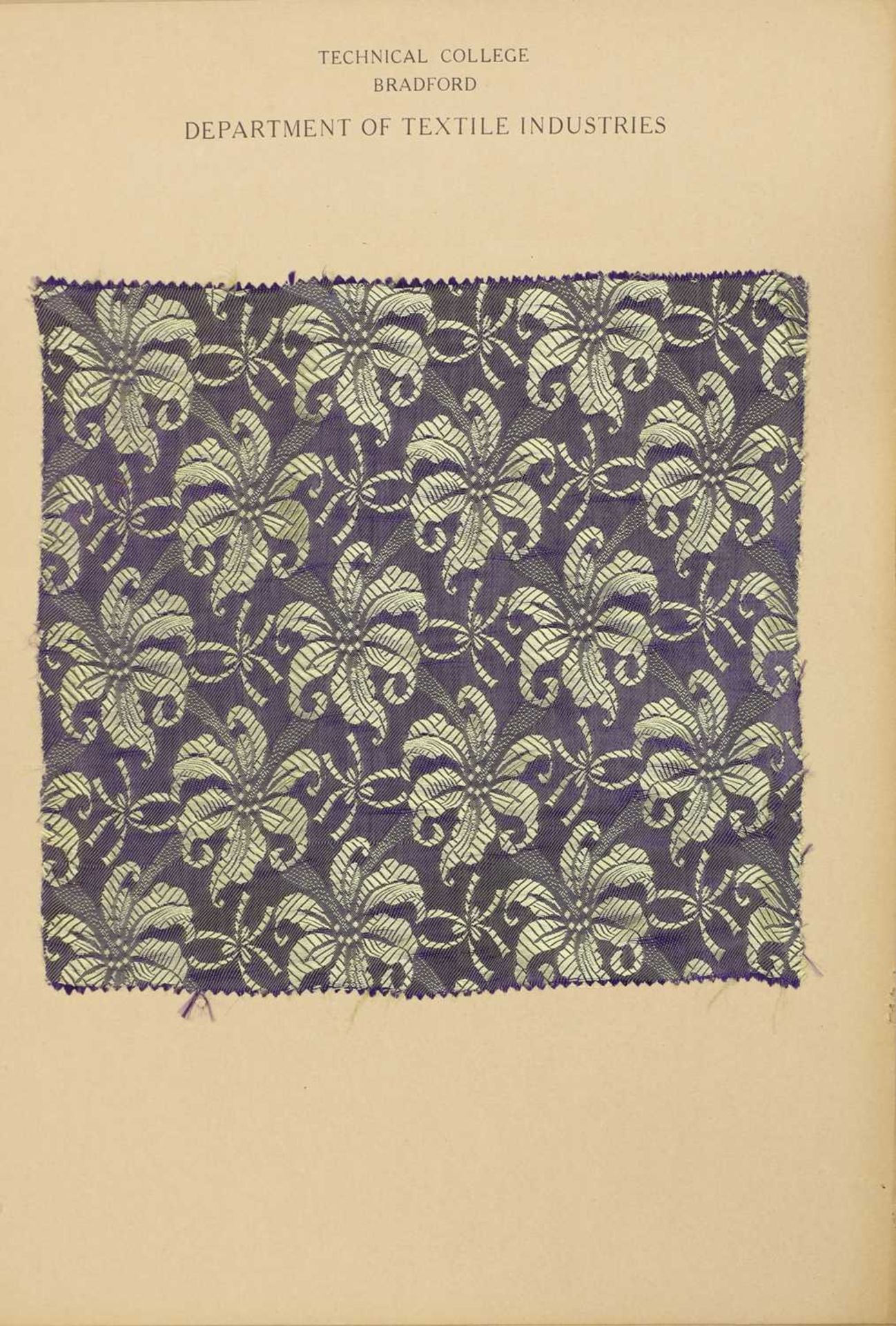 A collection of twelve Art Deco fabric sample cards, - Image 4 of 11
