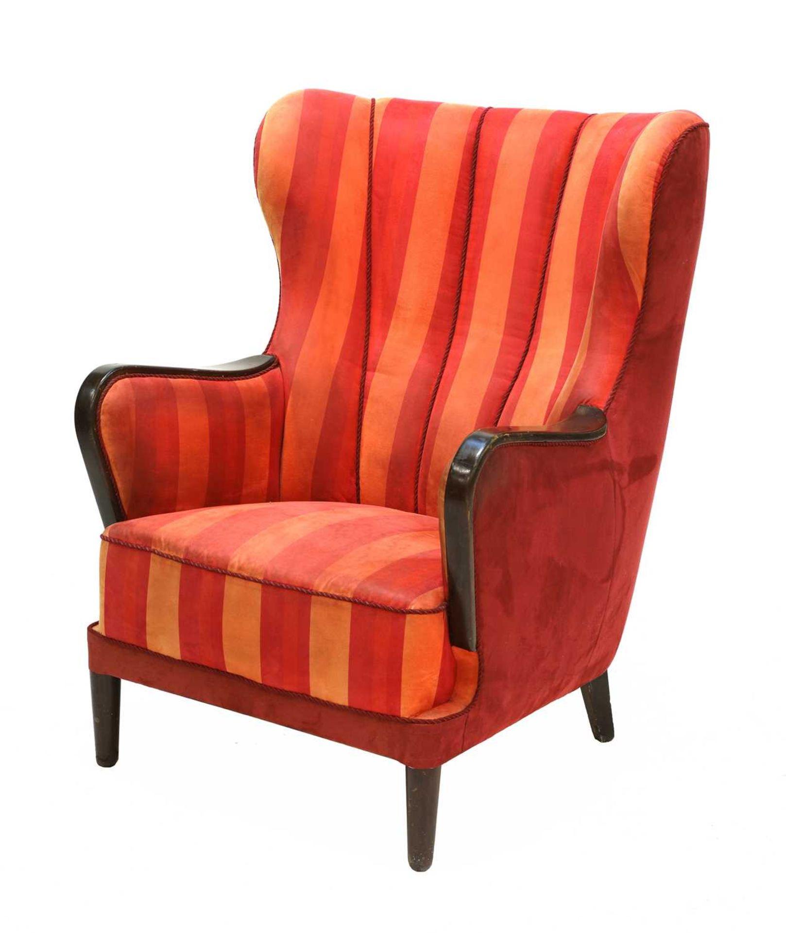 A Danish armchair,