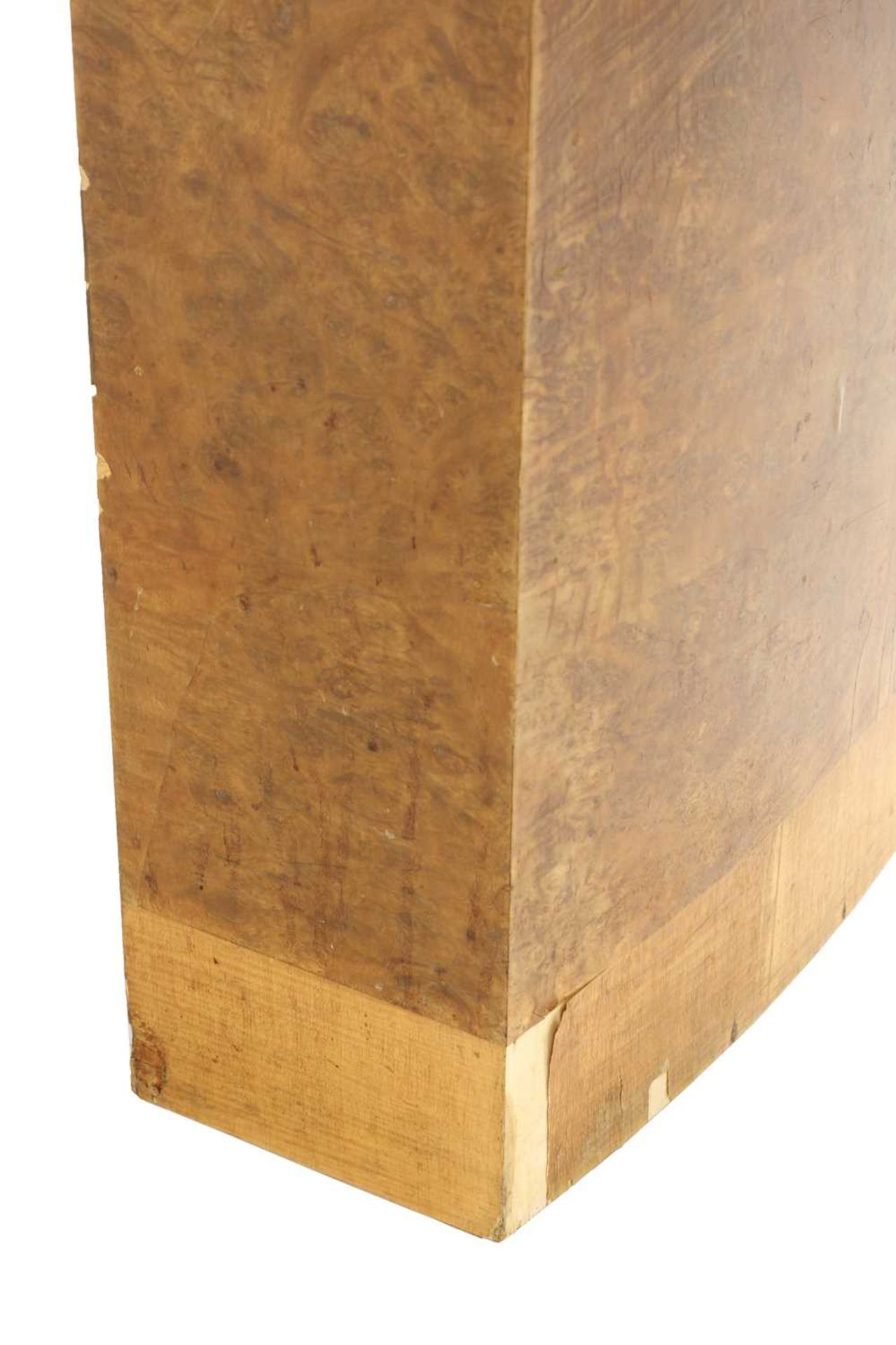 An Art Deco burr maple dining table, - Image 3 of 5