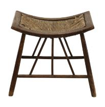 An Arts and Crafts ash Thebes stool,